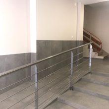 Portería acceso edificio 03